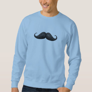 Trendy, Waxed and Braided Moustache Sweatshirts
