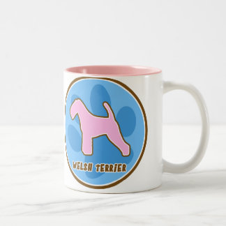 Trendy Welsh Terrier Mug