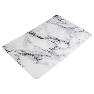 Trendy White And Black Marble Stone Pattern