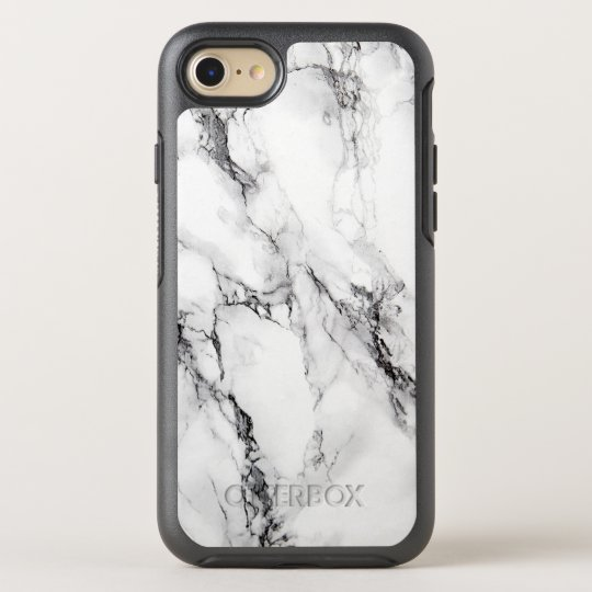 the best attitude 2afa3 fd0ca Trendy White Marble Stone OtterBox iPhone Case