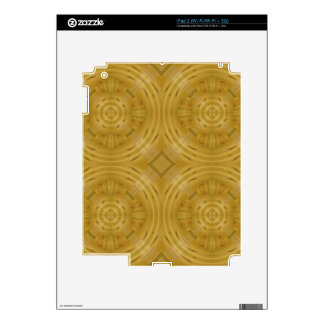 Trendy Wood abstract pattern Decals For The iPad 2