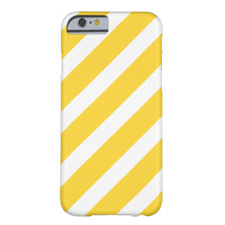Trendy Yellow Stripes Pattern iPhone 6 case
