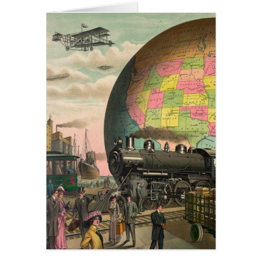 Trenes, aviones y todo felicitacion
