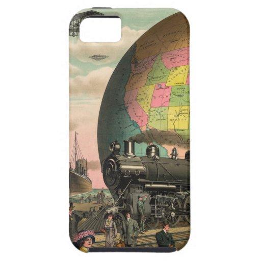 Trenes, aviones y todo iPhone 5 carcasas