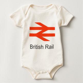 Trenes británicos de los años 70 de los body de bebé