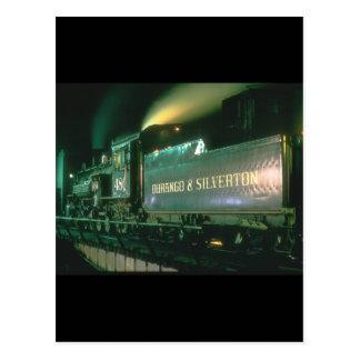 Trenes de Durango y de Silverton No_Steam Postales