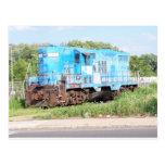 Trenes del este de Penn GP-10 # 2202 Postal