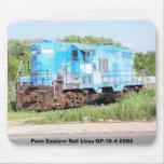 Trenes del este de Penn GP-10 # 2202 Alfombrillas De Ratón