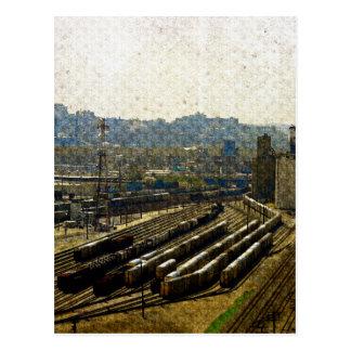 Trenes para el noveno piso, una vista de Kansas Postal