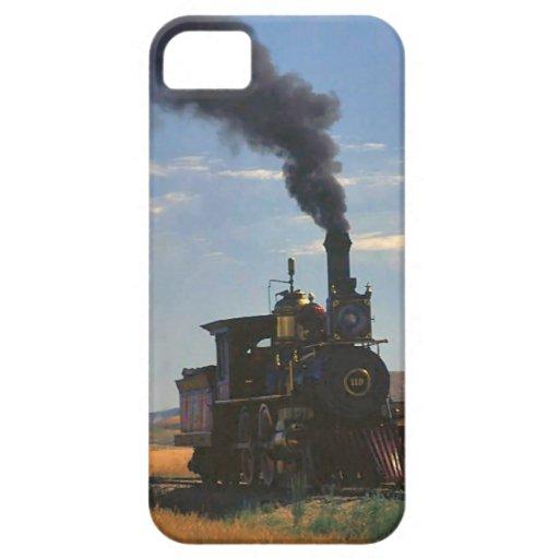 Trenes y pistas - buen jefe del vapor iPhone 5 cárcasa