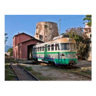 Trenino verde - The little green train Postcard