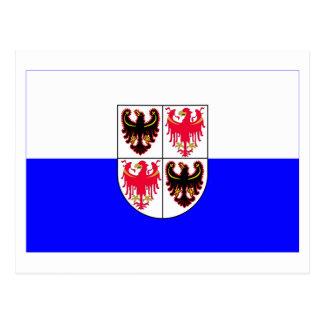 Trentino-Alto Adige flag Postcard
