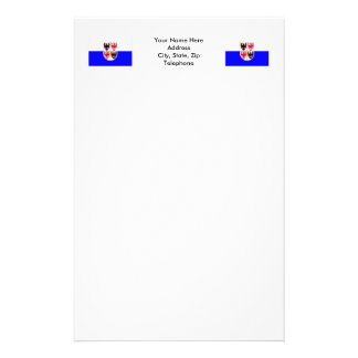 Trentino-Alto Adige flag Customized Stationery