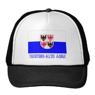 Trentino-Alto Adige flag with name Trucker Hat