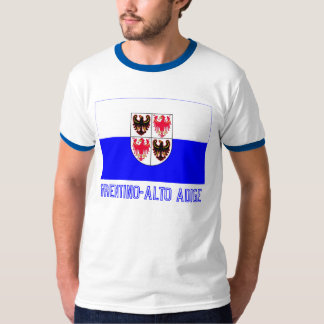 Trentino-Alto Adige flag with name T-Shirt