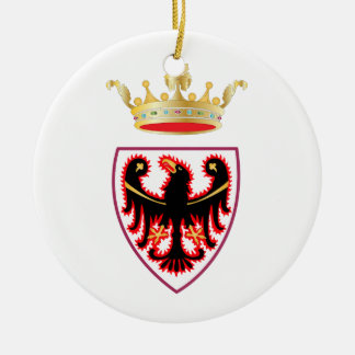 Trentino (Italy) Coat of Arms Ceramic Ornament