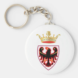 Trentino (Italy) Coat of Arms Keychain