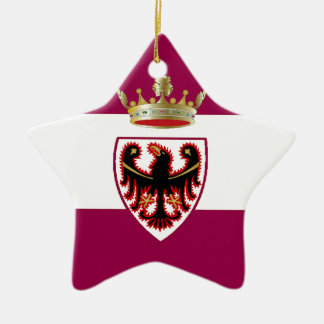 Trentino (Italy) Flag Ceramic Ornament