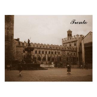 Trento Tarjeta Postal