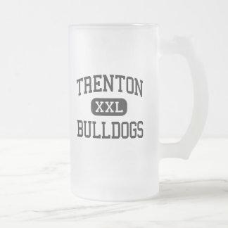 Trenton - Bulldogs - High - Trenton Missouri 16 Oz Frosted Glass Beer Mug