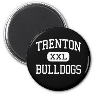 Trenton - Bulldogs - High - Trenton Missouri 2 Inch Round Magnet