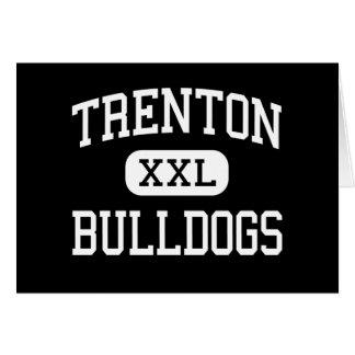 Trenton - Bulldogs - High - Trenton Missouri Greeting Card
