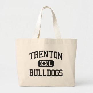 Trenton - Bulldogs - High - Trenton Missouri Jumbo Tote Bag