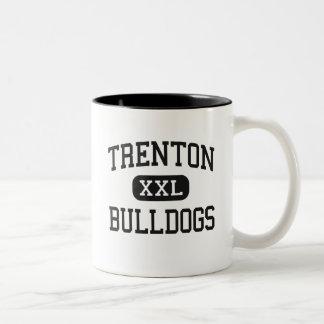 Trenton - Bulldogs - High - Trenton Missouri Two-Tone Coffee Mug