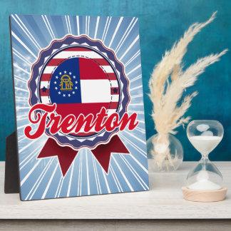 Trenton, GA Display Plaque