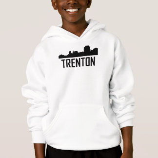 Trenton New Jersey City Skyline Hoodie