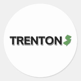 Trenton, New Jersey Classic Round Sticker
