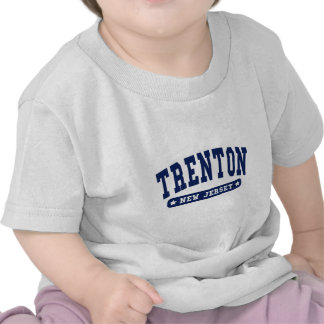 Trenton New Jersey College Style tee shirts
