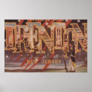 Trenton, New Jersey (revolucionario) Póster