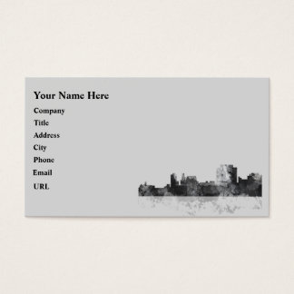 TRENTON, NEW JERSEY SKYLINE BUSINESS CARD