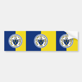 Trenton, New Jersey, United States flag Bumper Sticker