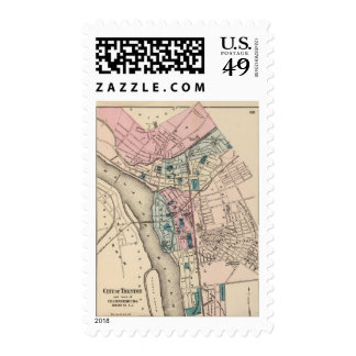 Trenton, NJ Sellos Postales