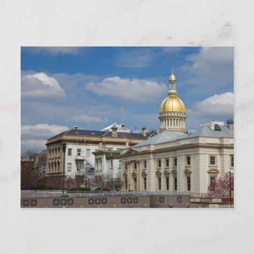 Trenton State Capitol Postcard postcard