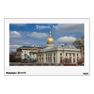 Trenton State Capitol Wall Decal