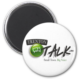 Trenton Talk Custom Magnet