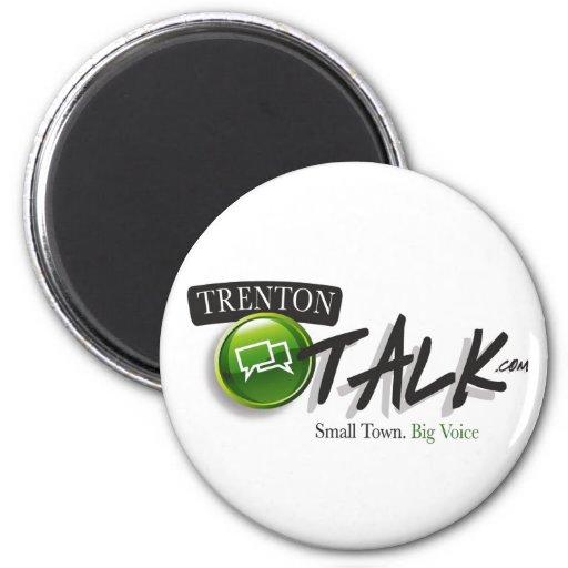 Trenton Talk Custom Magnet