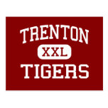 Trenton - Tigers - High School - Trenton Texas Postcards
