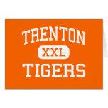 Trenton - Tigers - Senior - Trenton Florida Greeting Card