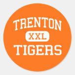 Trenton - Tigers - Senior - Trenton Florida Classic Round Sticker