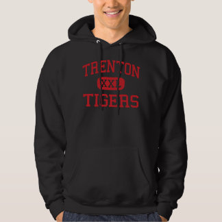 Trenton - tigres - High School secundaria - Suéter Con Capucha