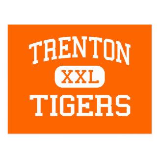 Trenton - tigres - mayor - Trenton la Florida Tarjetas Postales