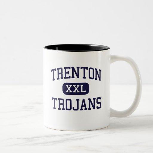 Trenton - Trojans - High School - Trenton Michigan Coffee Mug