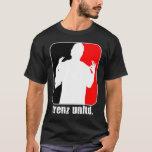 Trenz Unltd. Camiseta roja y negra del negro (de