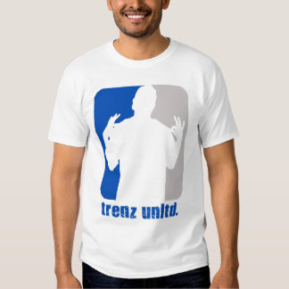 Trenz Unltd. Cuello azul y gris de Poppin Poleras