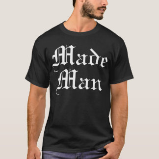 Trenz Unltd. - Made Man Black Tee