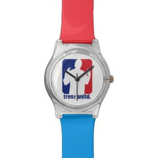 Trenz Unltd. Reloj del logotipo